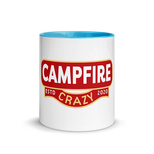 Campfire Crazy Mug with Color Inside