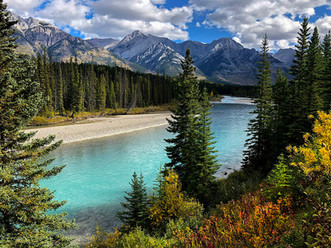 Bow River Banff Park