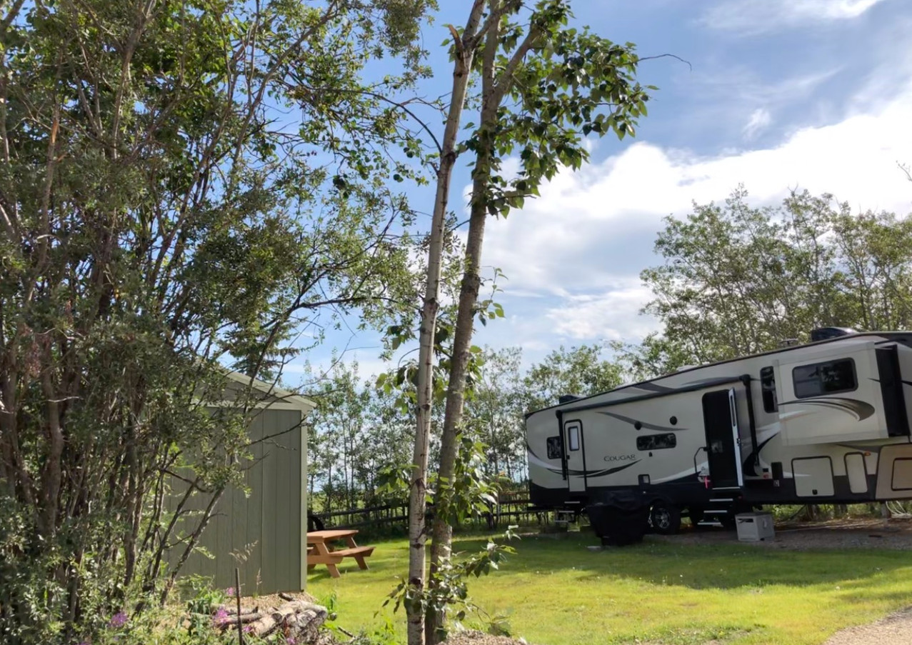 RV Resort Campsite