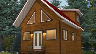 Cabin - sample exterior design