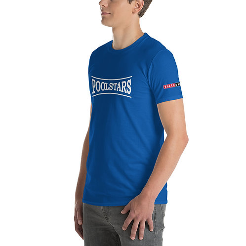 PoolStars Player Crest - Short-Sleeve T-Shirt