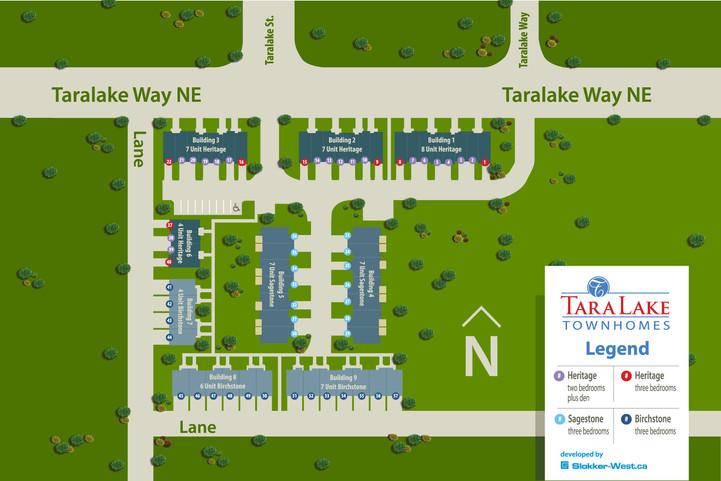 Taralake Townhomes, Calgary