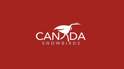 Canada Snowbirds brand design