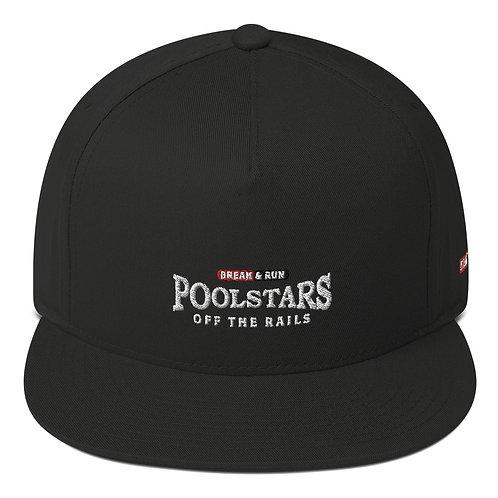 Official POOLSTARS Flat Bill Cap