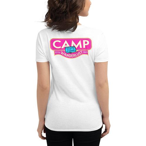 Campizon Camp Wanderlust Women's short sleeve t-shirt