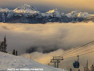 Skiing Revelstoke Mountain