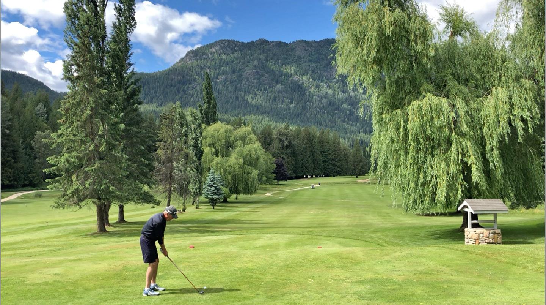 golfer Kokanee Springs BC
