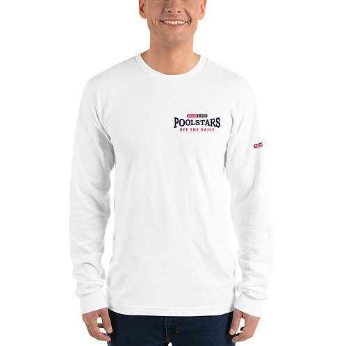Official POOLSTARS Long sleeve t-shirt