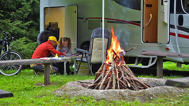 RV campsite Slave Lake