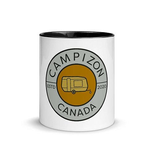 Campizon Crest Mug with Colour Inside