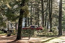 Kootenay Lake campground RV lot