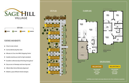Sage Hill Townhomes, Calgary