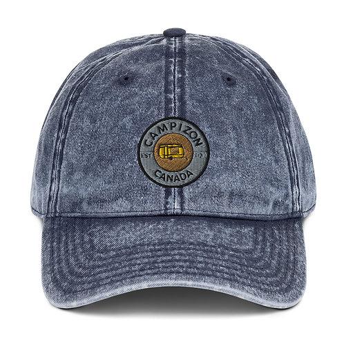 Campizon Crest - Vintage Cotton Twill Cap