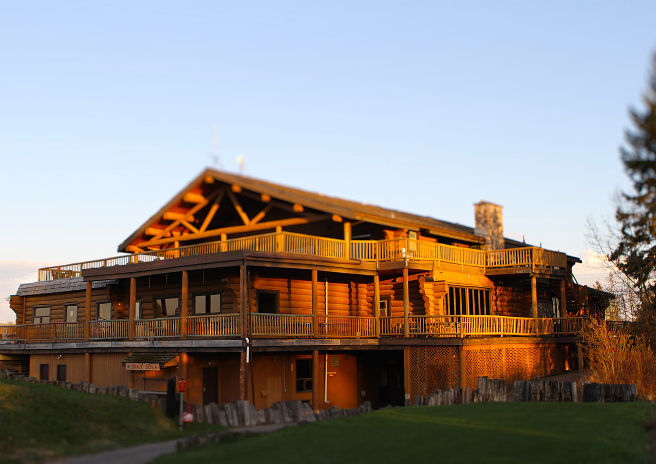 Rustic Clubhouse