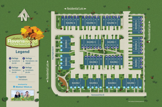 Ravenswood Townhomes, Airdrie