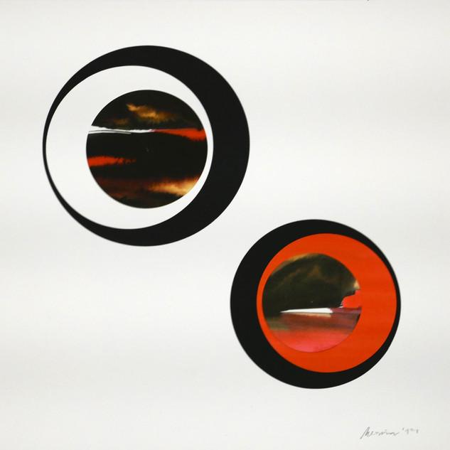 Serie Ojo Mirilla, Tintas sobre papel