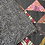 Thumbnail: Retro Peaks Lap Quilt