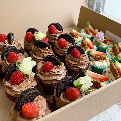 Mini cheesecake v košíčku