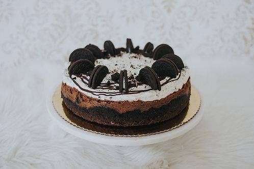 Cookies cream čoko cheesecake