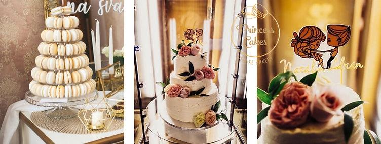torta-makronky-svadba-princess-cakes-tre