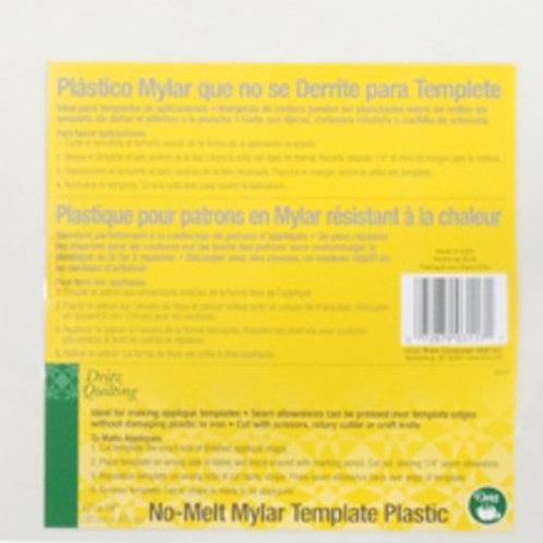 Dritz No Melt Mylar Template Plastic