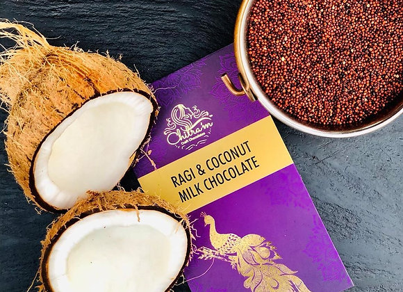Ragi & Coconut Milk Chocolate