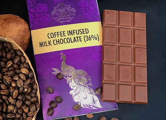 Coffee Infused Milk Chocolate (36%)