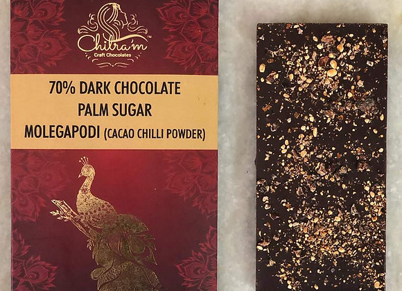 70% Dark Chocolate Palm Sugar Molegapodi