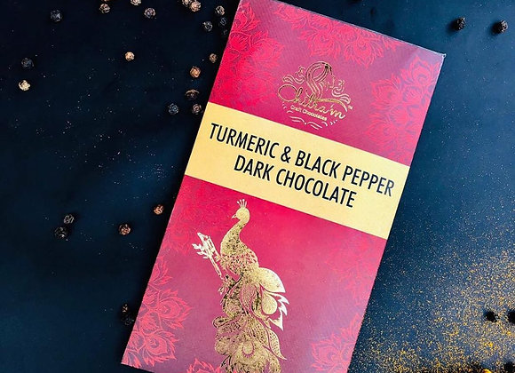 Turmeric & Black Pepper Dark Chocolate