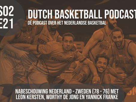 S02E21: Nabeschouwing Nederland - Zweden