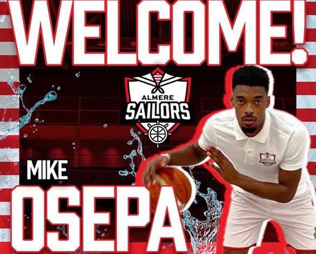Almere Sailors neemt Mike Osepa mee naar hoogste niveau