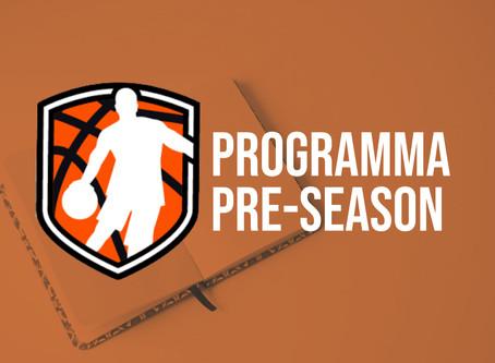 Programma DBL pre-season