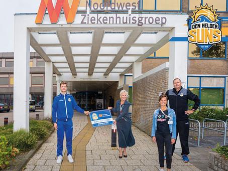 Suns Care: zorgmedewerkers gratis naar Den Helder Suns