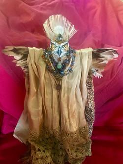 Owl Spirit Figurine