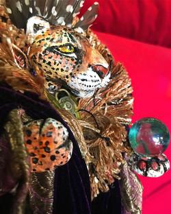 Jaguar Spirit Figurine
