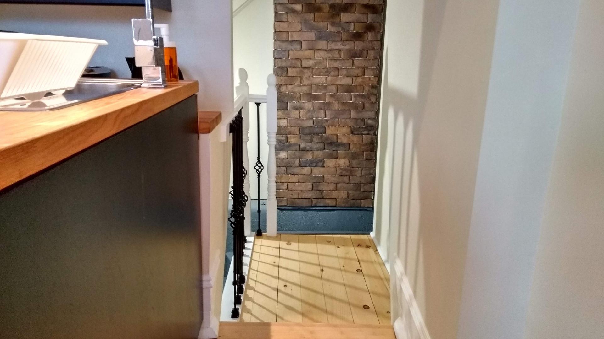 Passage vers la salle de bain