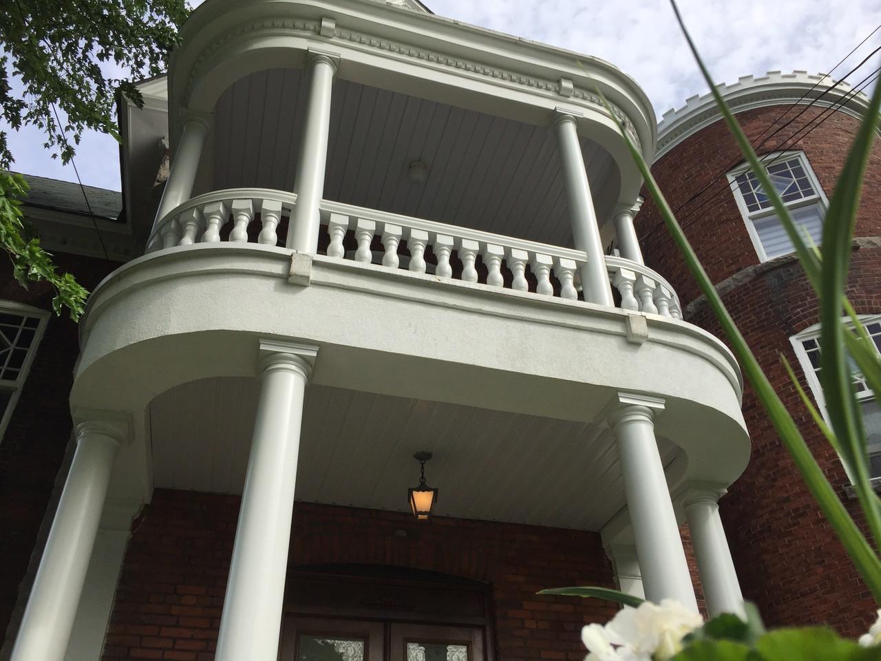 Balcon pour la suite privée