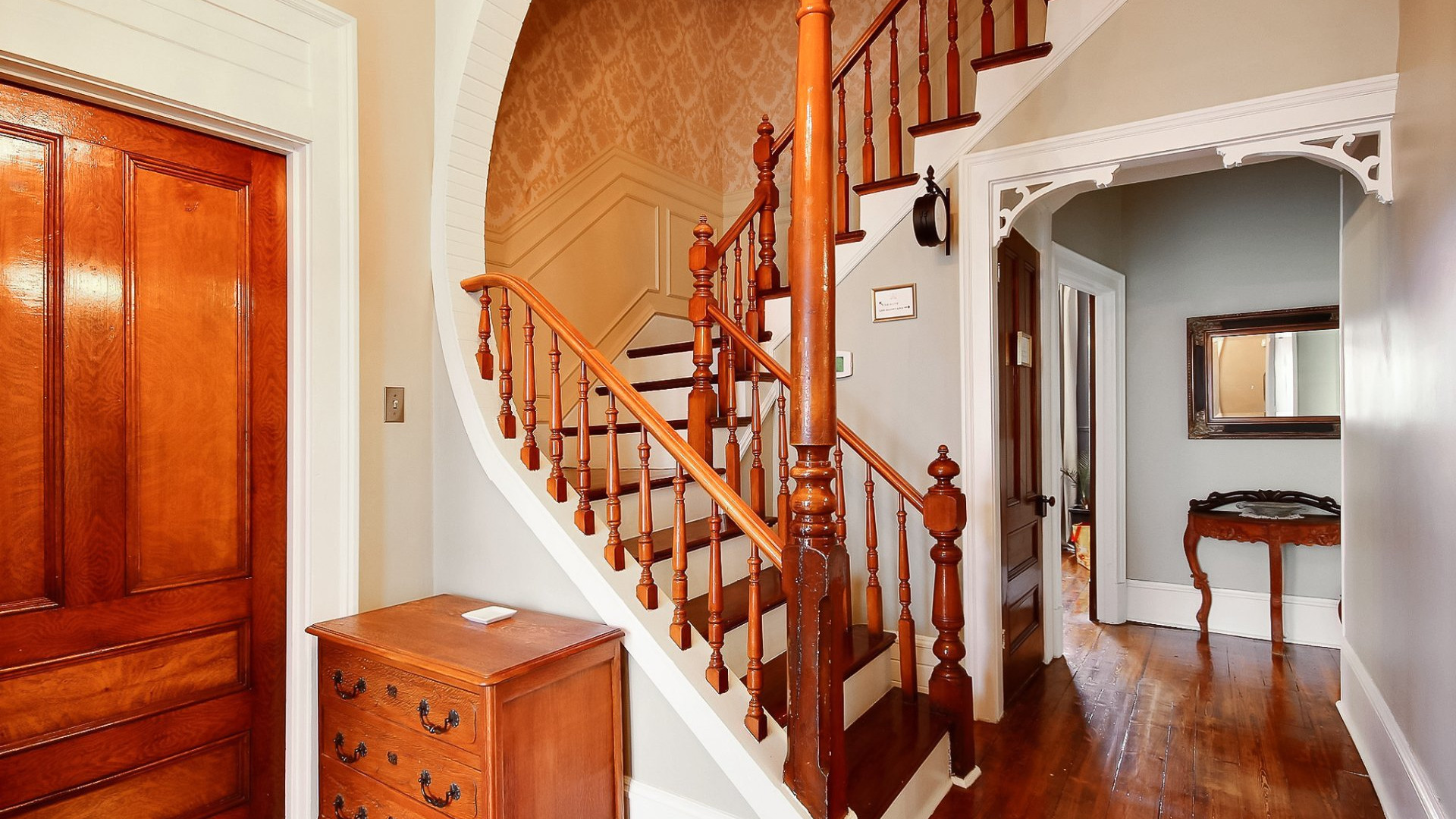 Escalier vers la suite