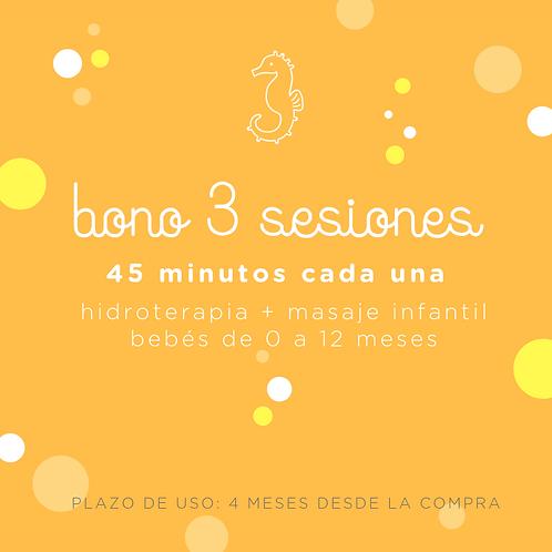Bono 3 sesiones