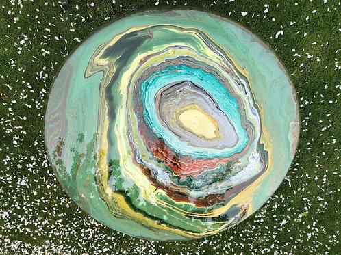 Emerald Green Geode