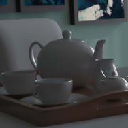 3D Dining Room