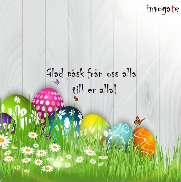 Glad påsk önskar invogate sina kunder och leverantörer