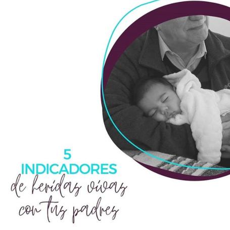 5 INDICADORES DE HERIDAS ABIERTA CON NUESTROS PADRES