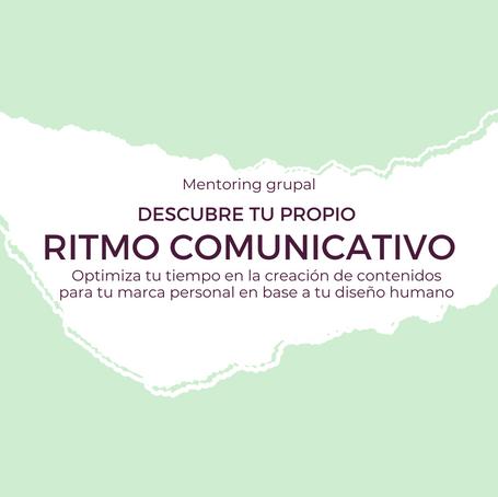 CONECTA CON TU RITMO COMUNICATIVO