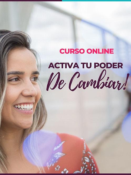 ACTIVÁ TU PODER DE CAMBIAR!
