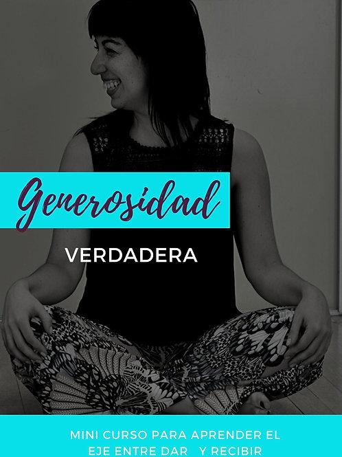 MINI CURSO GENEROSIDAD VERDADERA