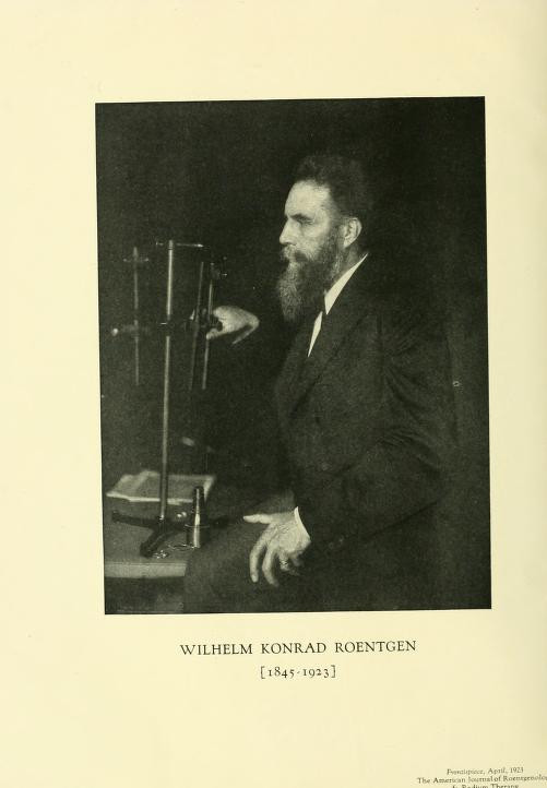 Foto: The American journal of roentgenology, radium therapy and nuclear medicine, 1906 / Flickr