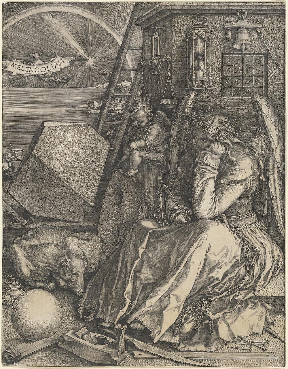 Melencolia I. Sanatçı: Albrecht Dürer