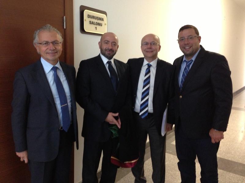 Dr. Gazi Zorer, Av. Yılmaz Yazıcıoğlu, Dr. Murat Emanetoğlu, Dr. İbrahim Sözen