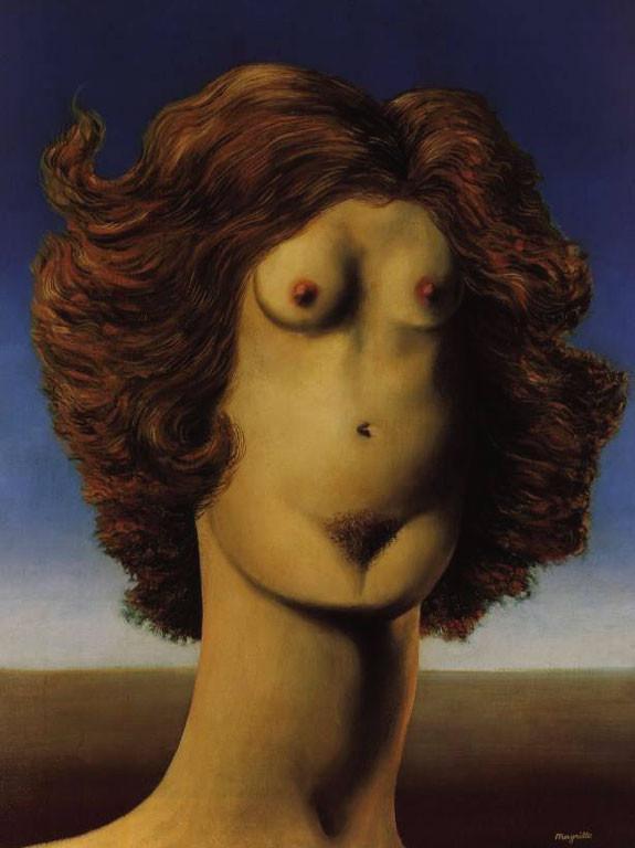 Sanatçı: René Magritte / Le Viol / Wikiart.org